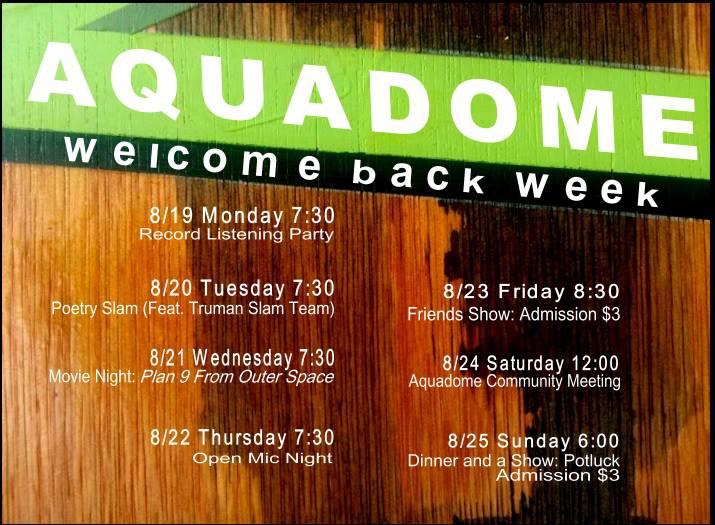 Welcome Back Week 2013